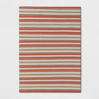Deals on Threshold Stripe Woven Rug 5x7-ft