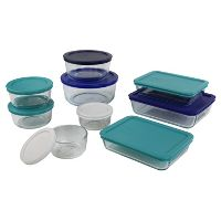 Pyrex 18pc Glass Storage Set Deals