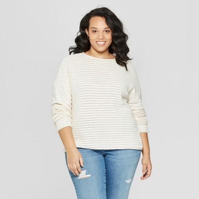 c176e8a3f84 Women s Plus Size Sweaters   Target