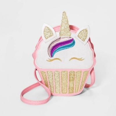 Kids/' Girls/' Straw Kitty Handbag Purse
