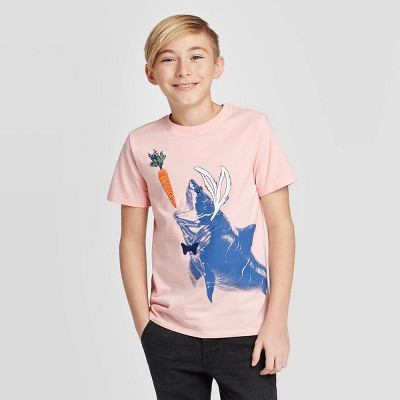 Design By Humans cats and catch Boys Youth Graphic T Shirt