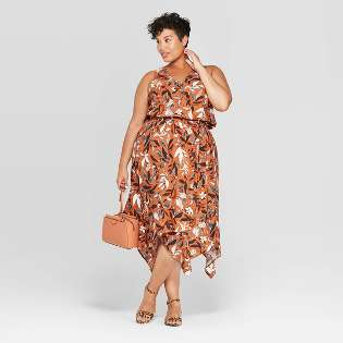 Green : Plus Size Dresses for Women : Target