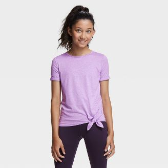 Girls Long Sleeve Plain Pink Button Round Neck Cotton Blend Top Age 7-14 Years
