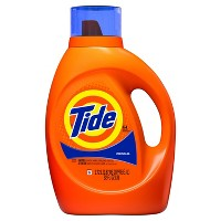 Deals on 3 Tide Original Liquid Laundry Detergent 92oz + $10 Target GC