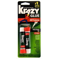 Deals on 2-Count Elmers All Purpose Krazy Glue
