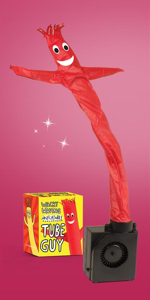 Wacky Waving Inflatable Tube Guy - (Miniature Editions) by  Conor Riordan (Paperback), Wacky Waving Inflatable Tube Elf - (Rp Minis) by Sam Stall (Paperback)