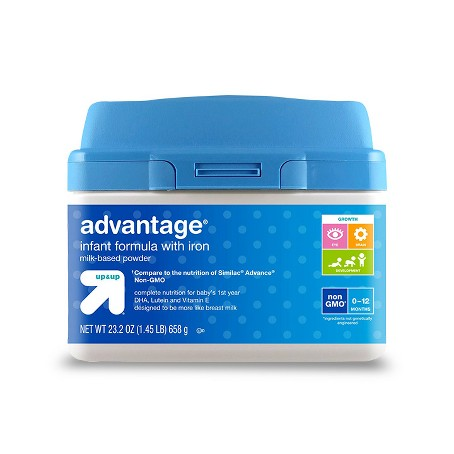 up & up advantage infant formula