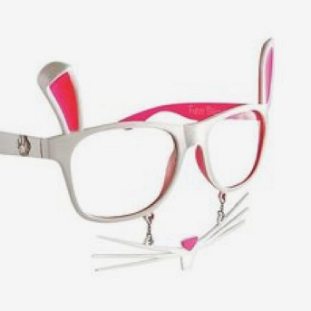 Sunstache Bunny Clear Lenses - One Size Fits Most