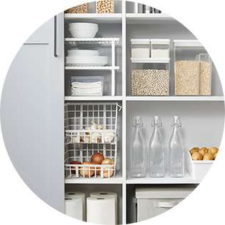 Acrylic Home Storage Containers