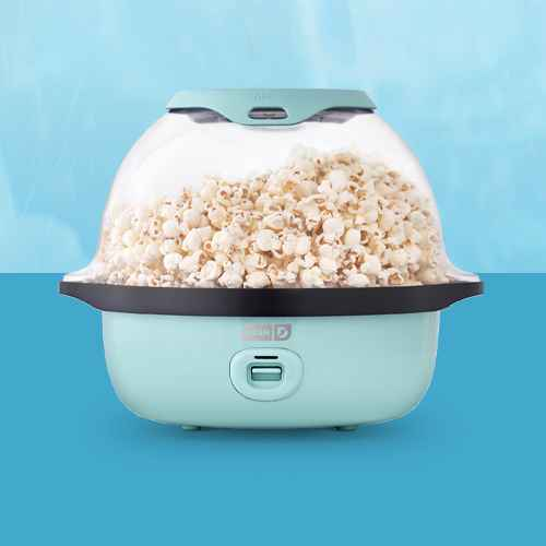Dash 6qt SmartStore Stirring Popcorn Maker - Aqua