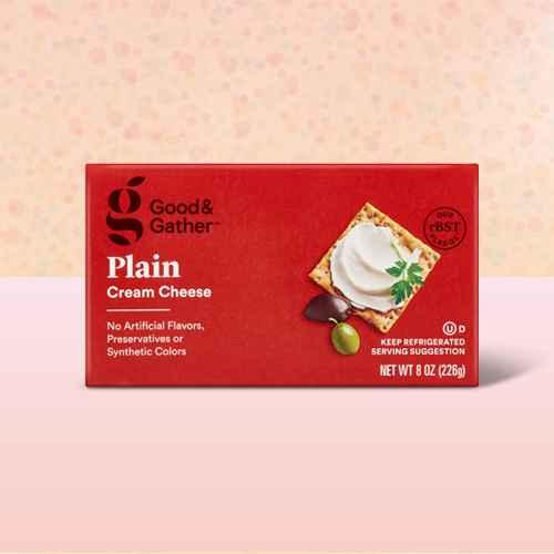 Plain Cream Cheese Bar - 8oz - Good & Gather™