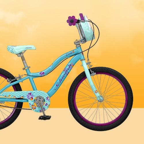 "Schwinn Deelite 20"" Kids' Bike - Mint Green"