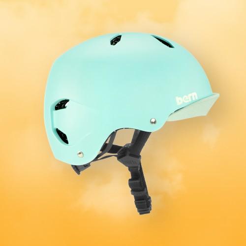 Bern Comet Kids' Helmet - Mint Green