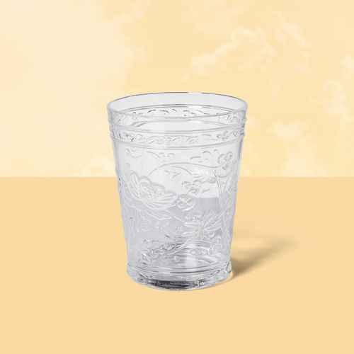 16oz Plastic Floral Embossed Short Tumbler - Opalhouse™