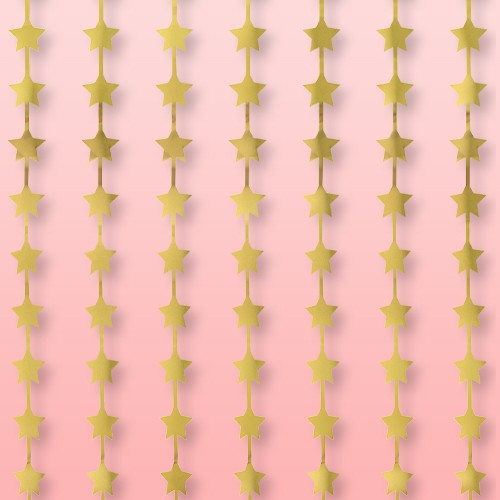 9ct Star Backdrop Party Decoration Gold - Spritz™