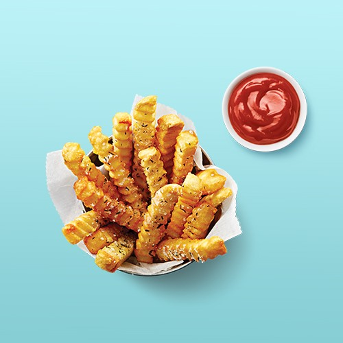 Ore-Ida Golden Crinkles Frozen French Fries - 32oz, Heinz Tomato Ketchup 32oz