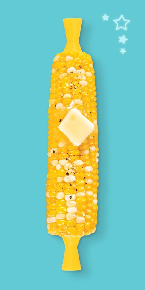 Tovolo Corn Picks (Set of 8) Sun Ray, Sweet Corn - 4pk Package