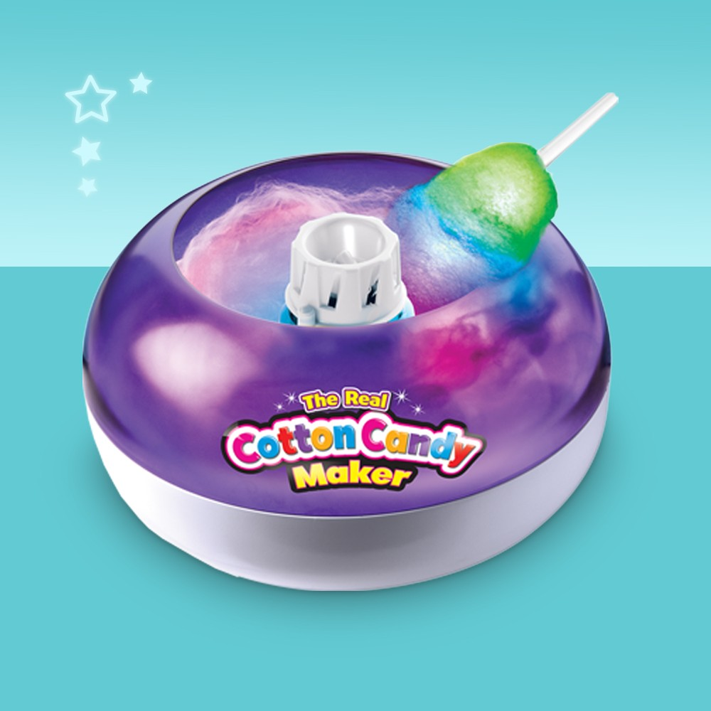 Cra-Z-Art Cotton Candy Maker with Lite Wand, Dippin' Dots Frozen Dot Maker, Snoopy Sno Cone Maker, Disney Frozen 2 Slushy Treat Maker Activity Kit