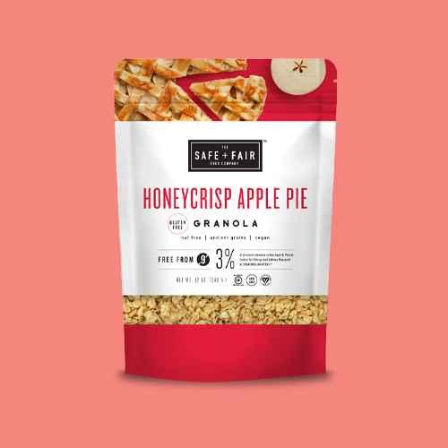 Safe + Fair HoneyCrisp Apple Pie Granola - 12oz