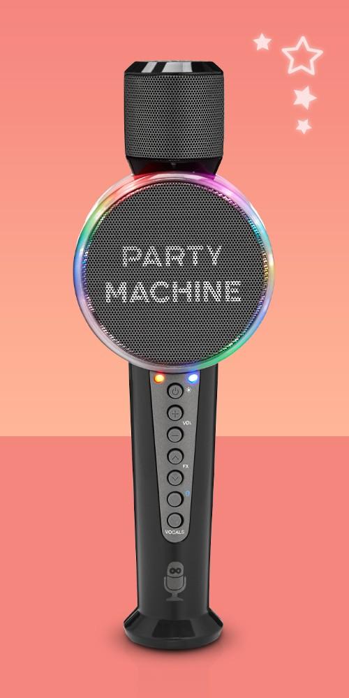 Singing Machine Party Machine Bluetooth Microphone