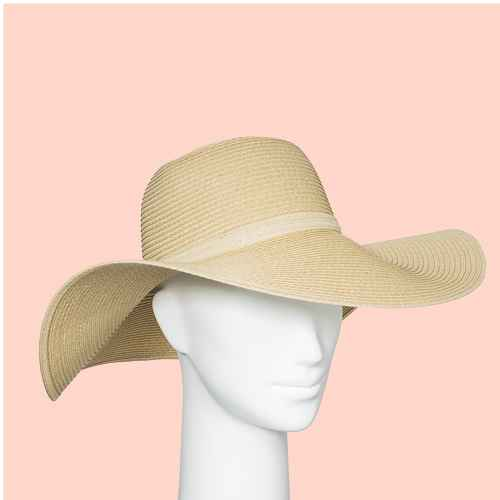 Women's Packable Essential Straw Floppy Hat - A New Day™