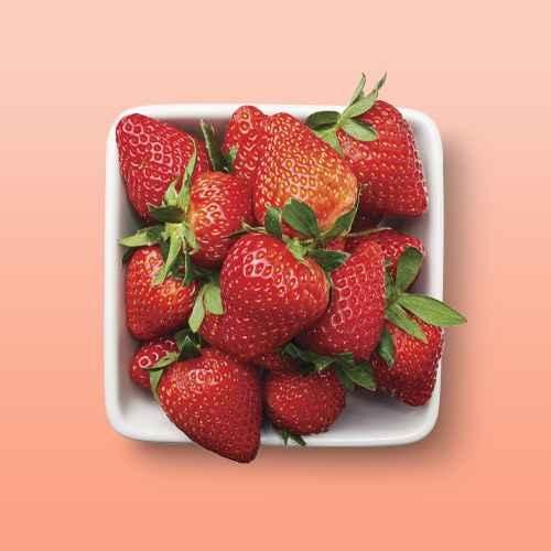 Strawberries - 1lb Package, Organic Strawberries - 1lb