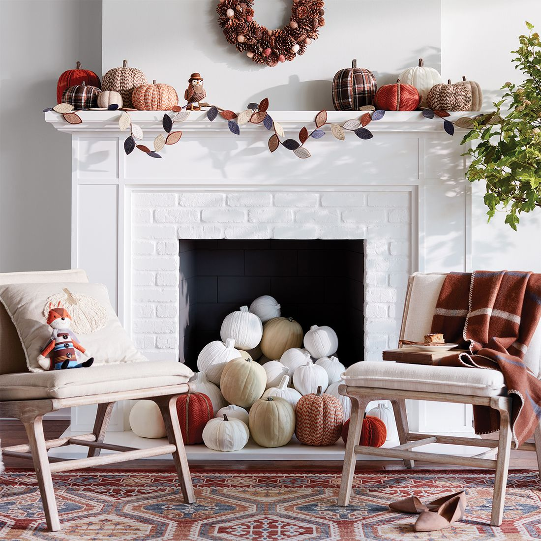 Fall dining room table decorating ideas - Next