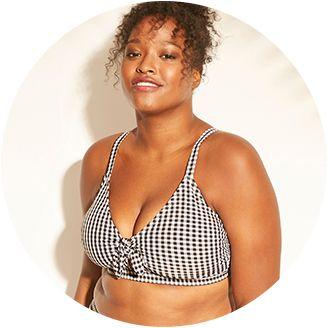 54918d169a Plus Size Swimsuit Tops · Plus Size Bikinis