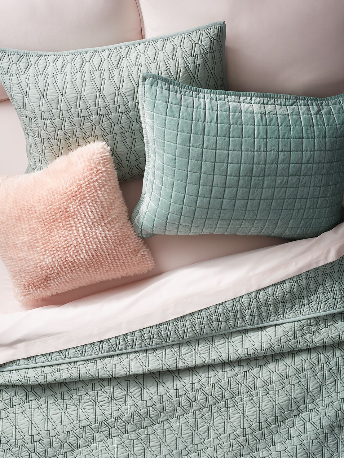 Shabby chic bedding - Project 62