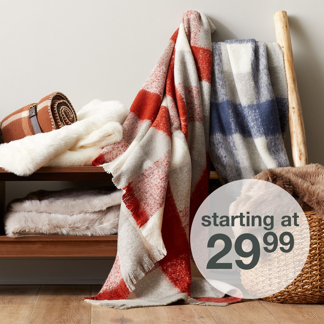 Fall Throws & Blankets