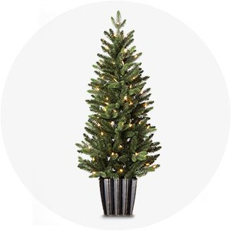 outdoor christmas decorations - White Christmas Tree Lights
