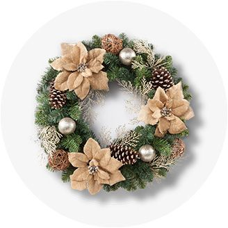 christmas wreaths garland target