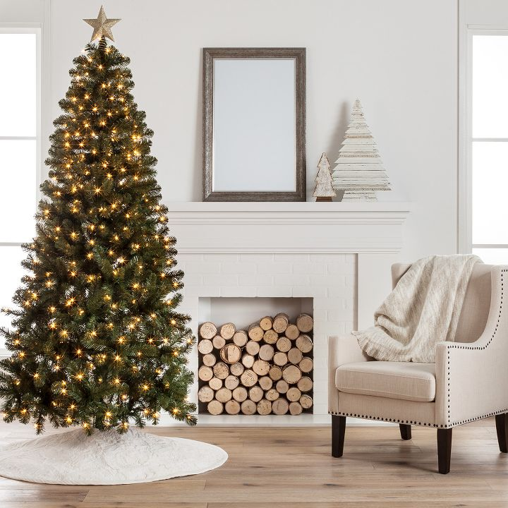 pre lit christmas trees littlewoods