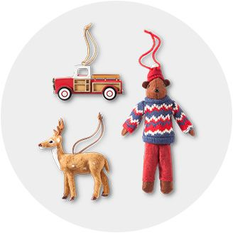 christmas ornaments target - Animal Christmas Decorations