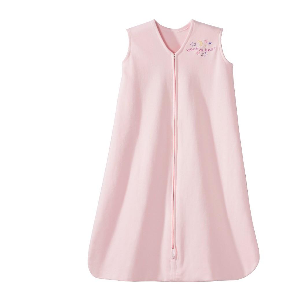 Halo Sleepsack 100% Cotton Wearable Blanket - Soft Pink - XL, Infant Unisex