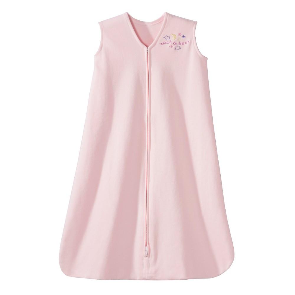 Halo Sleepsack 100% Cotton Wearable Blanket - Soft Pink - M, Infant Unisex