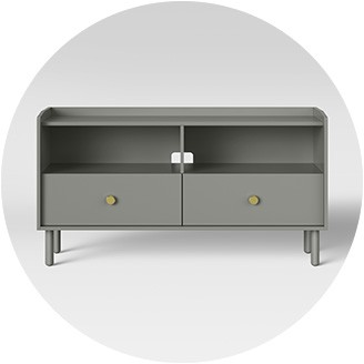 Gray TV Stands · Black TV