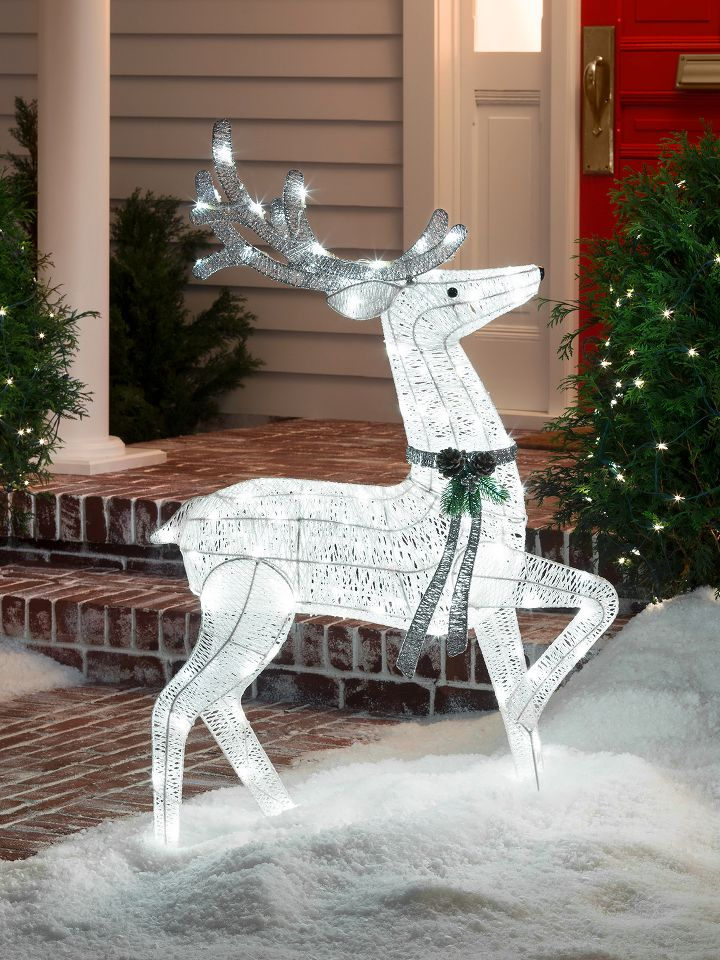 outdoor christmas decorations target - Llama Christmas Decoration
