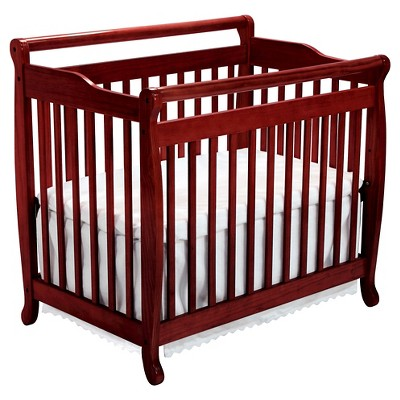 DaVinci Emily 2-in-1 Mini Crib and Twin Bed - Cherry