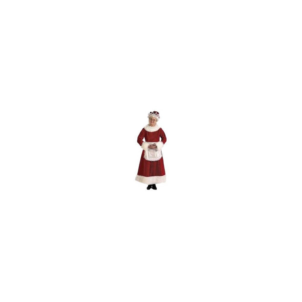 Womens Mrs. Claus Dress Costume Small (8-10), Variation Parent