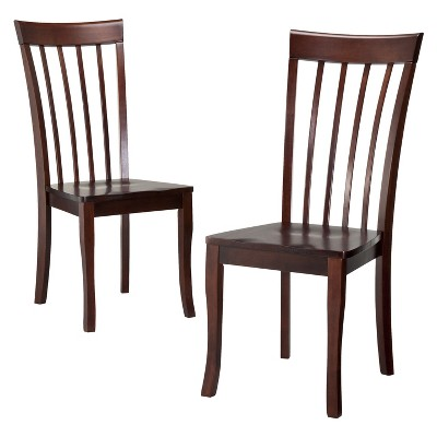Dolce Dining Chair - Brown (Set of 2)