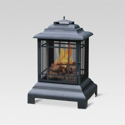 Firehouse Outdoor Firepit - Black - Threshold™