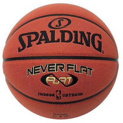 Spalding NEVERFLAT basketball official size 29.5