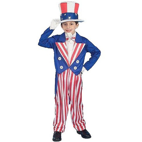 Boys' Uncle Sam Costume - image 1 of 1