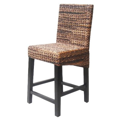 Andres Hardwood 24  Counter Stool - Espresso