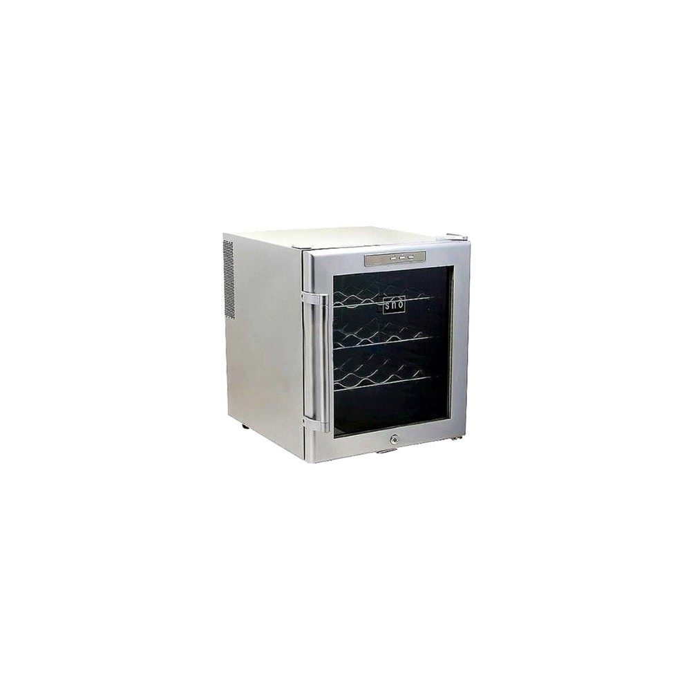 Whynter 16-Bottle Sno Wine Cooler – Silver WC16S