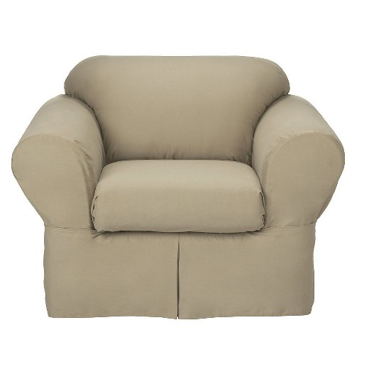 Casual Home casual home twill loveseat slipcover (2 piece) : target