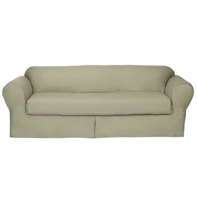 Casual Home Twill Loveseat Slipcover (2 Piece)  sc 1 st  Target & lazy boy couch slipcovers : Target islam-shia.org