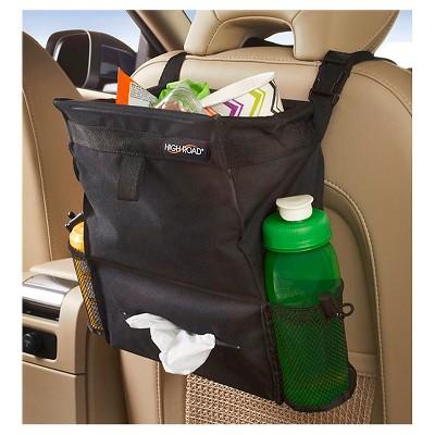 High Road Puff'nStuff Car Trash Bag Organizer - Black