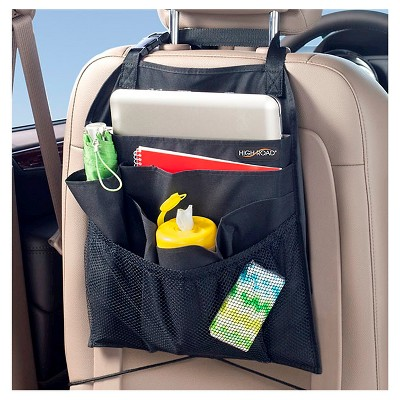 High Road BackPockets Car Seatback Organizer - Black
